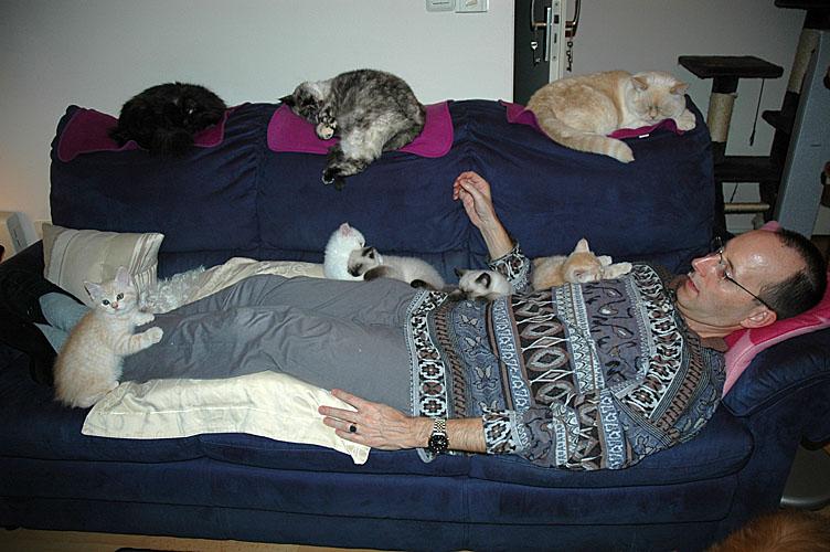 Laleh, familie en Rob 2007-12-08, 01