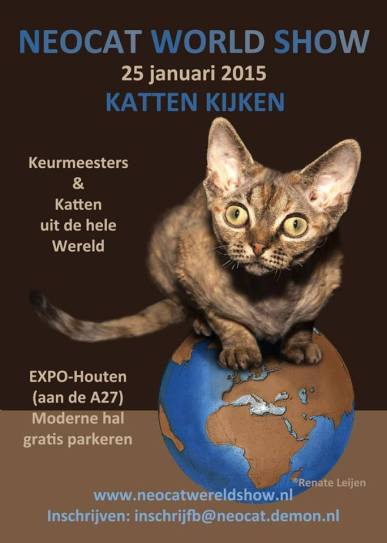 Houten show 2015-01-25, 01_affiche