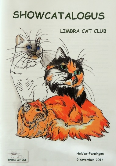 Limbra Cat Club show 2014-11-09, 03_Catalogus