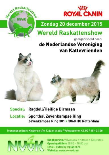 NVvK Wereldshow 2015-12-20, 01_poster