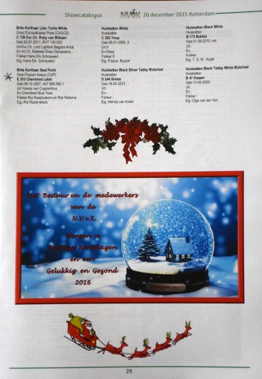 NVvK Wereldshow 2015-12-20, 04_catalogus pagina Laleh